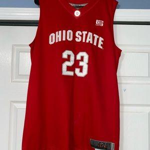 LeBron James Ohio State Basketball Jersey